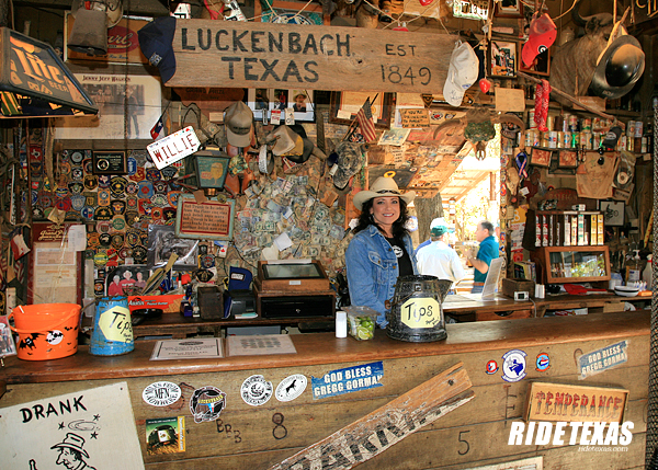 Luckenbach is a one-of-kind place. You just have to go there to understand what all the hub-bub is about.