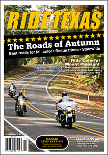 Published in the Vol 13 No 4 Autumn's Roads Edition