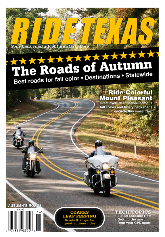 Texas is an Epic State with Epic Roads to match. This edition takes you across Texas, and points in between on some of the best.