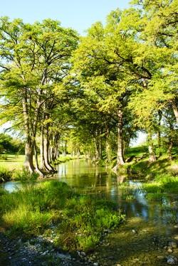 Shallow creeks
