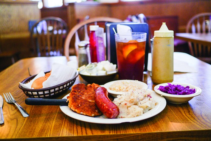 Muenster Loop - Rohmer's Restaurant Schnitzel & Sausage - (Muenster, TX)