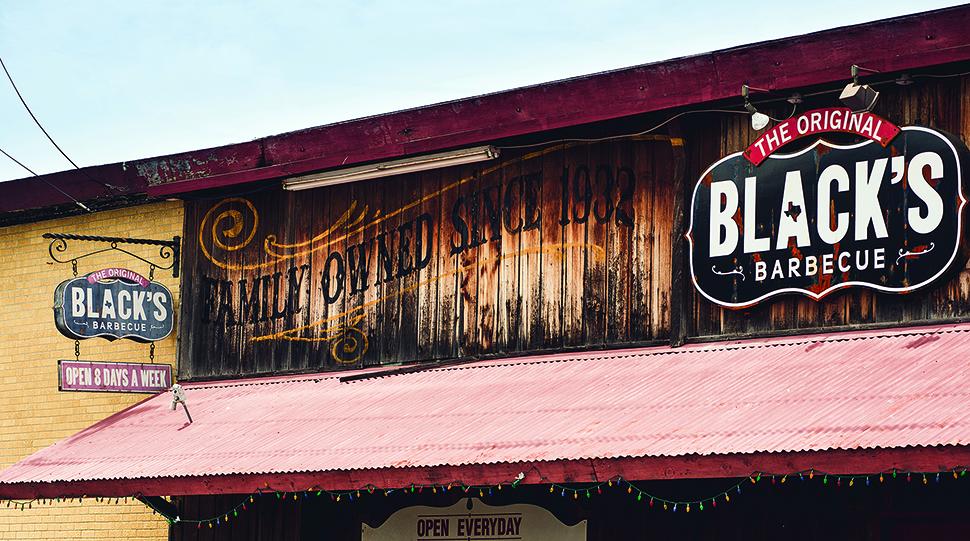 Black's barbecue in Lockhart.