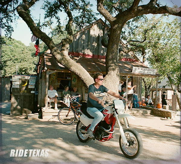 Luckenbach, Texas isn't just a place, it's a state of mind.